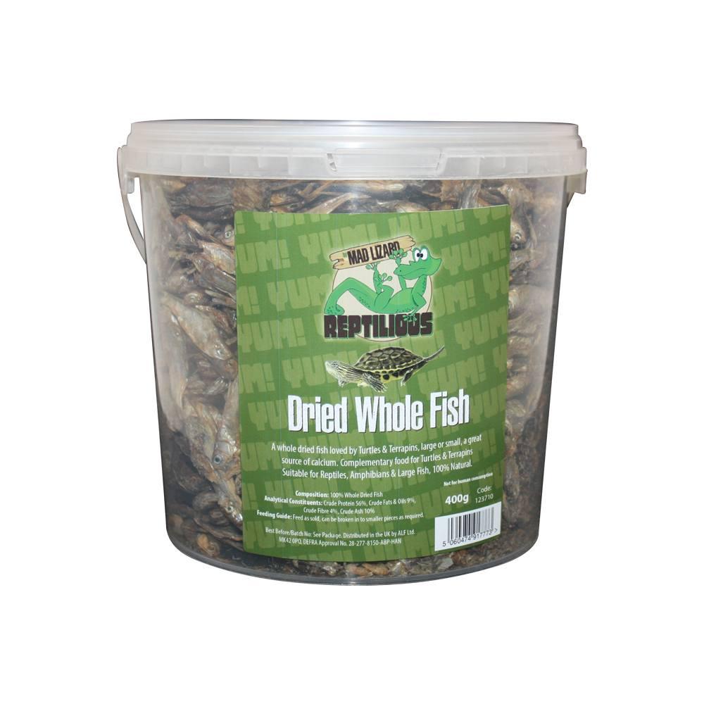 Mad Lizard Dried Whole Fish 400G
