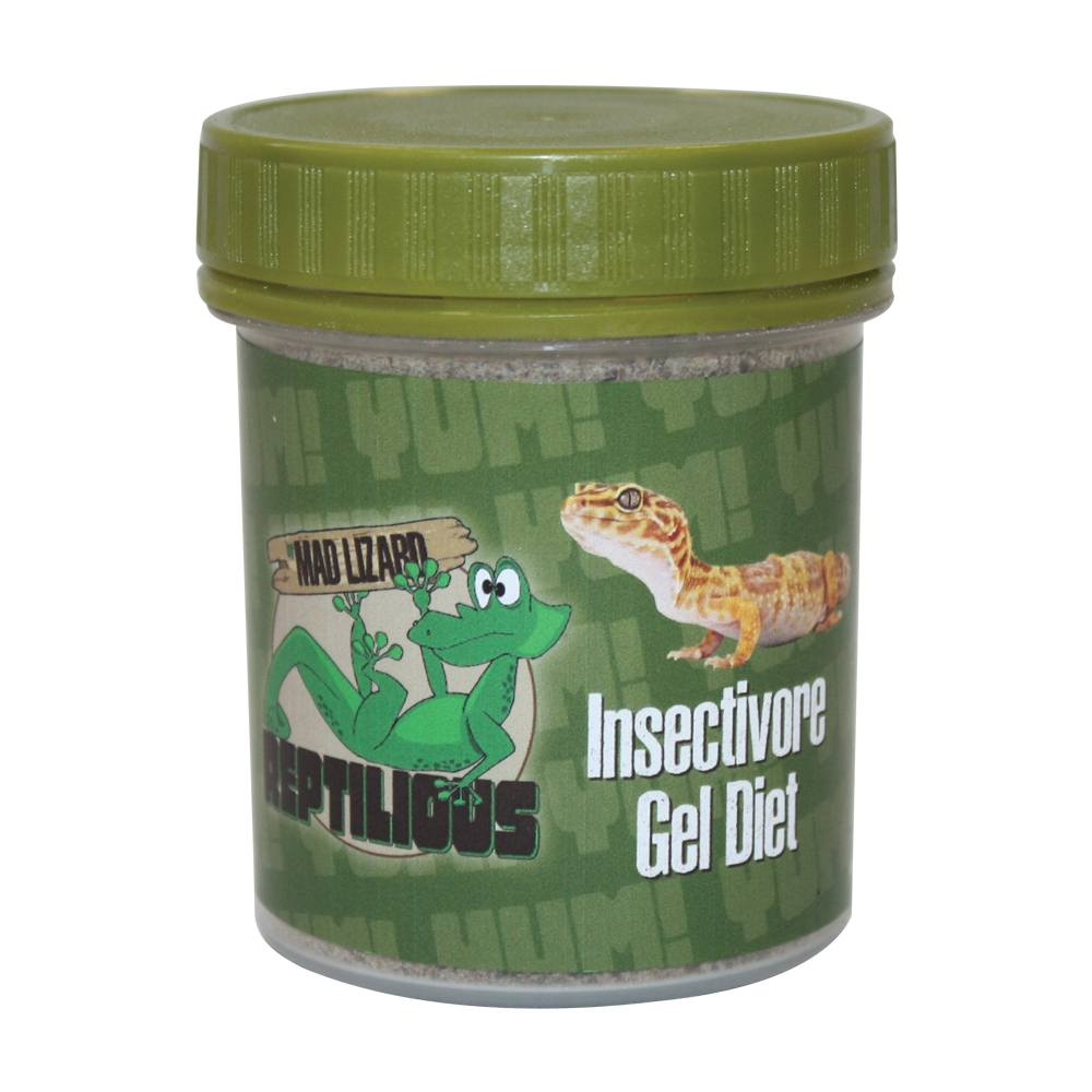 Mad Lizard Insectivore Gel Diet