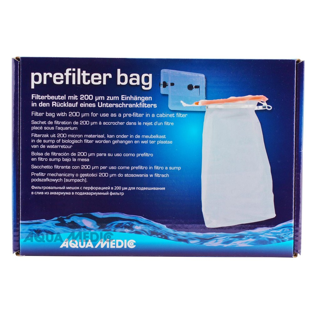 Aquamedic Pre Filter Bag+holder