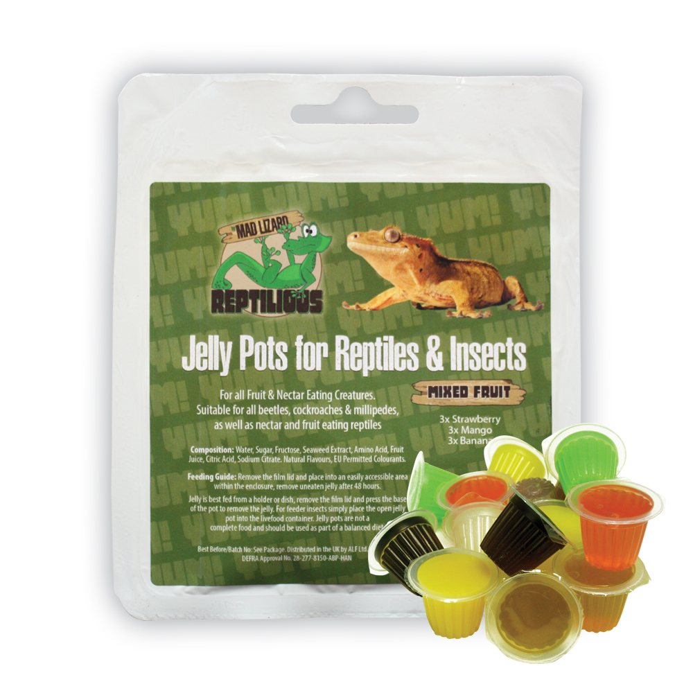 Mad Lizard Jelly Pots 9 Pack