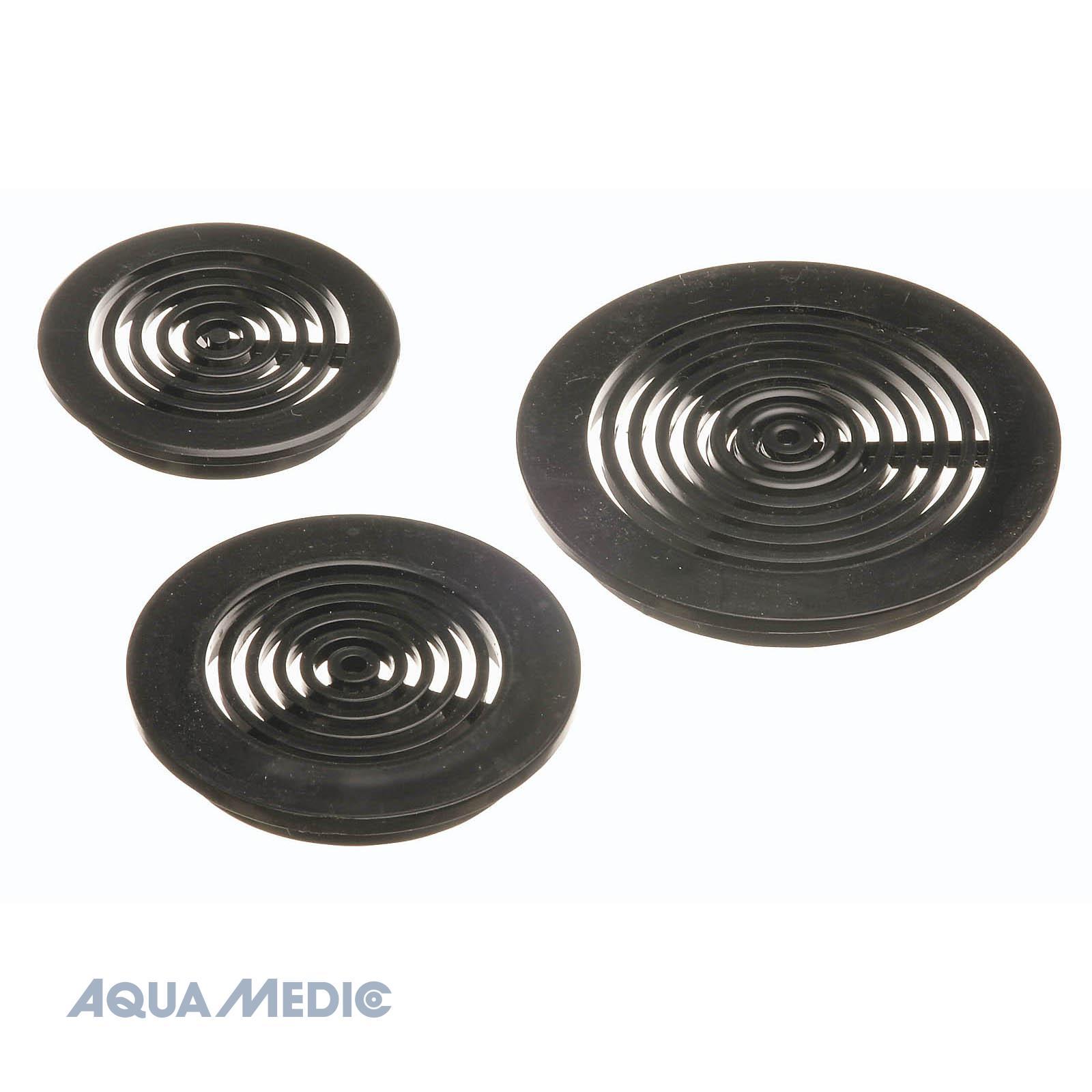 Aquamedic Round Grate Black