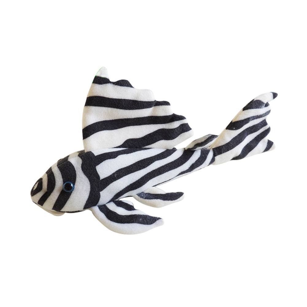 Green Pleco Toy – Zebra Plec