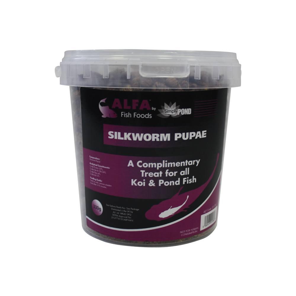 Alfa SilkWorm Pupae