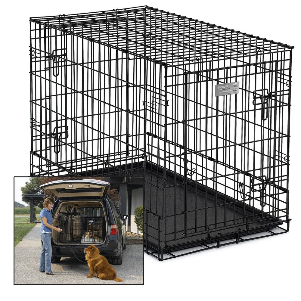 "MidWest ""Side by Side"" 2 door Dog Crate"