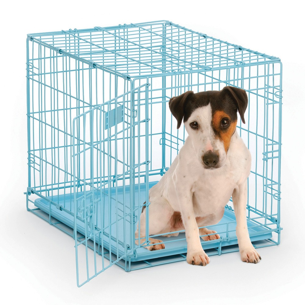 MidWest Baby Blue Dog Crate