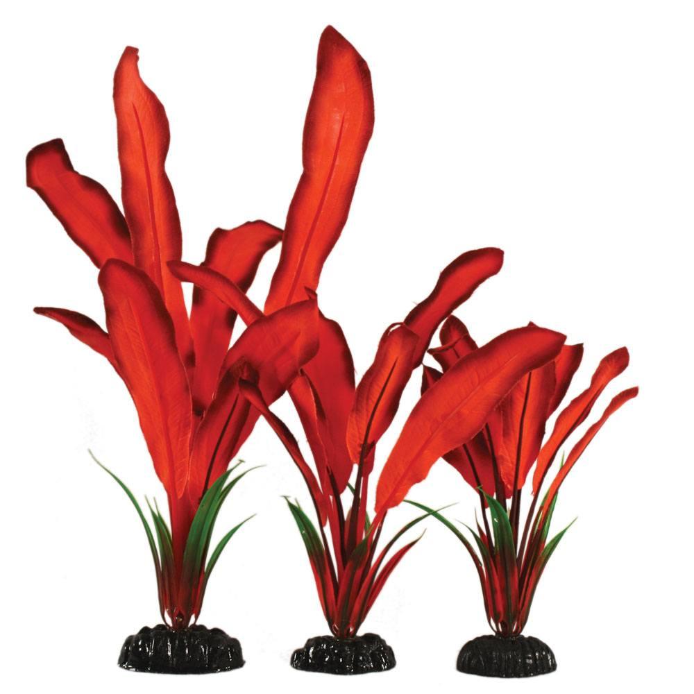 Red Bleheri Silk Aquascaping Aquarium Plant
