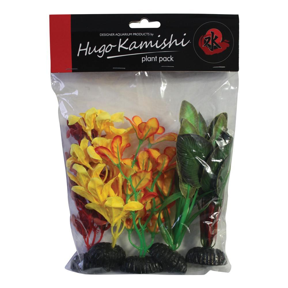 Hugo Kamishi Multi Pack 5 silk plants
