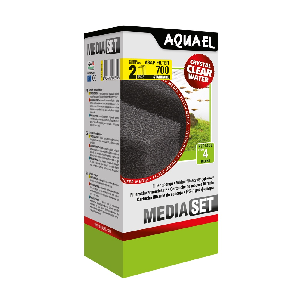 Aquael Asap Internal Filter Sponges