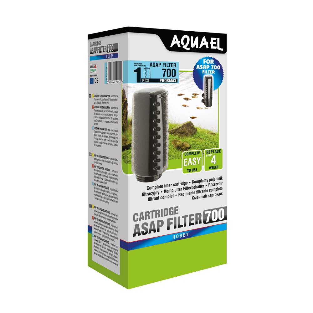 Aquael Asap Internal Filter Sponges plus plastic cartridge