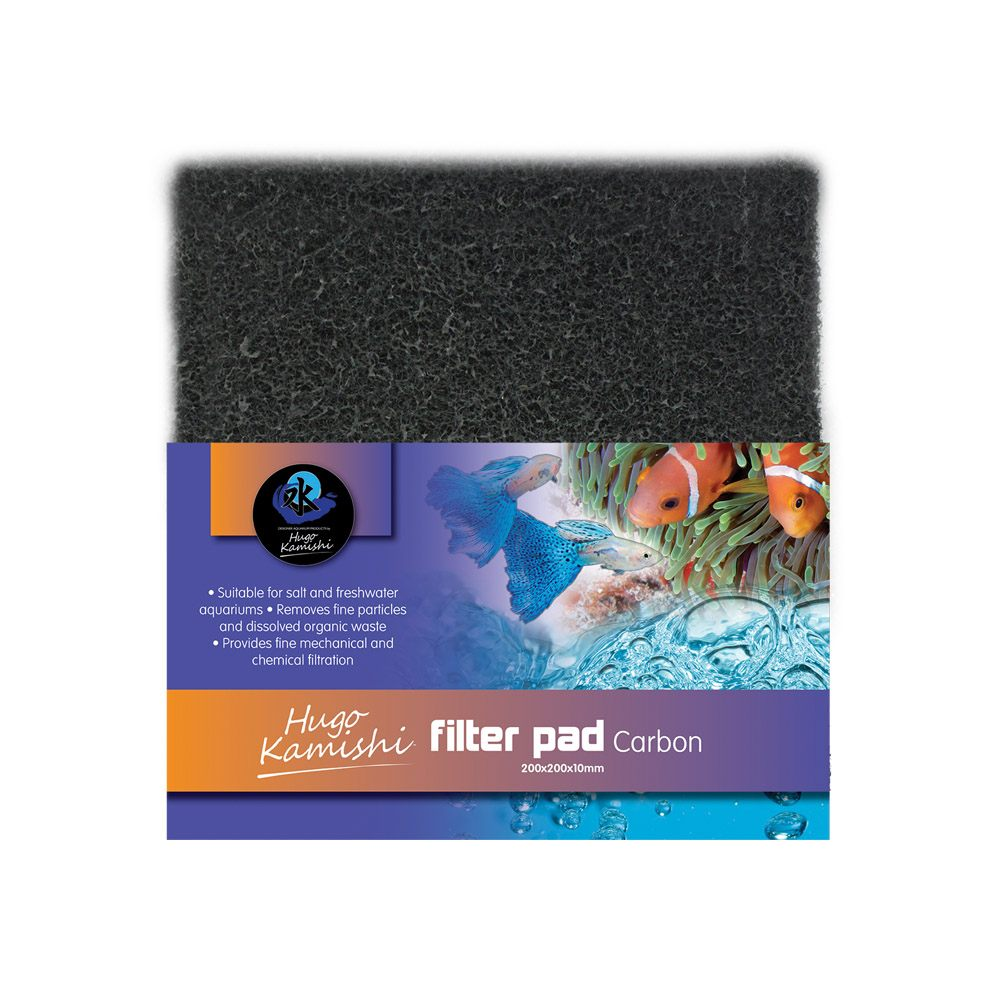 Hugo Kamishi Aquarium Activated Carbon Filter pad
