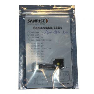 Sanrise replacement Led's