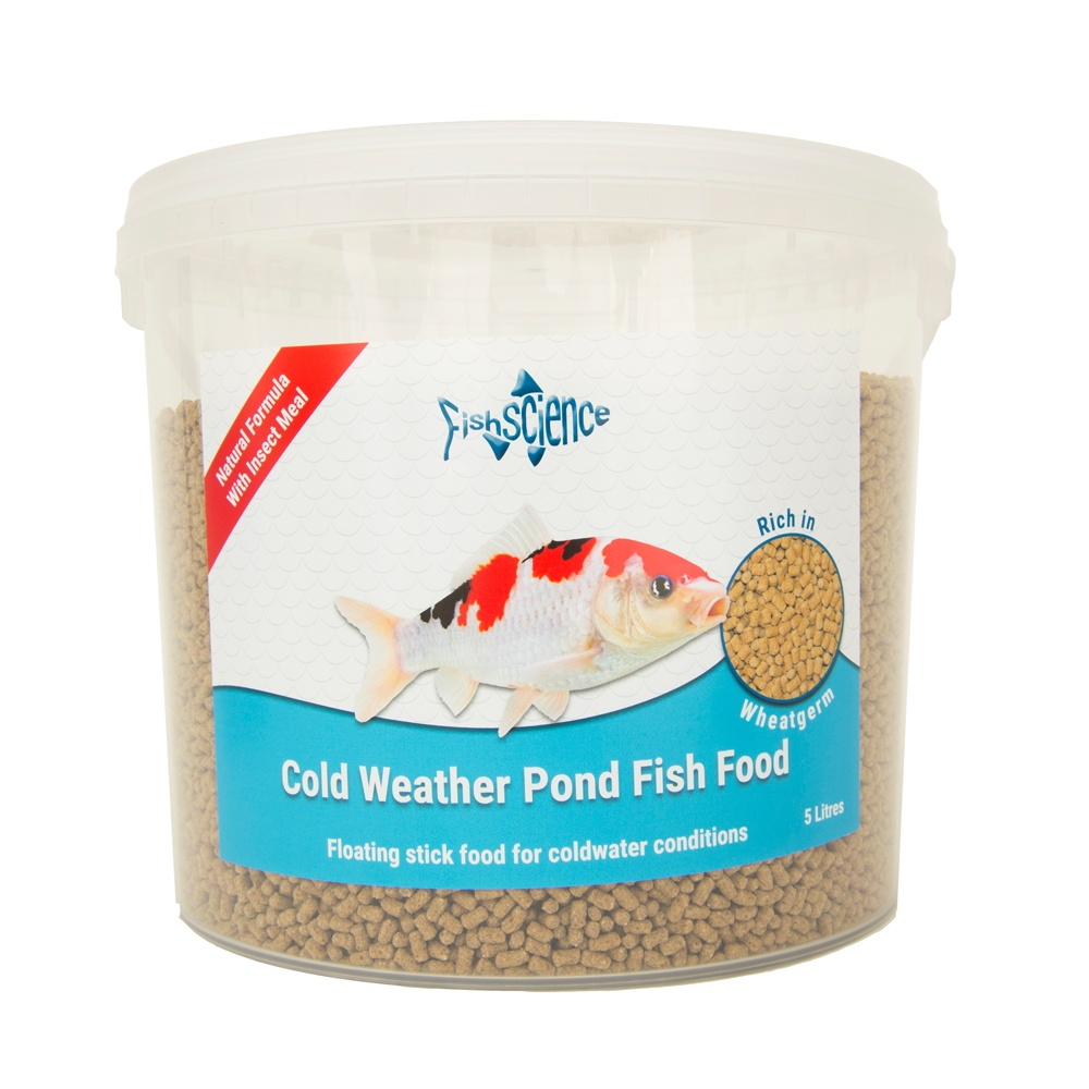Cold Weather Pond Fish Food